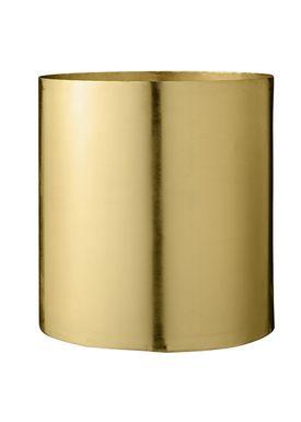 Bloomingville - Flowerpot - Urtepotteskjuler Guld Metal - Large
