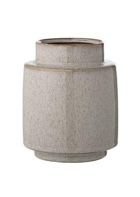Bloomingville - Vase - Vase, Natur, Stentøj - Natur
