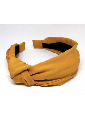 Bow's By Stær - Hair Band - By Stær Headband - Curry Yellow