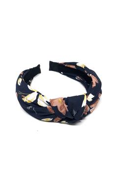 Bow's By Stær - Hair Band - By Stær Headband - Antique Flower Navy