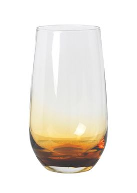 Broste CPH - Glass - Drinking glass - Amber / Smoke - Amber