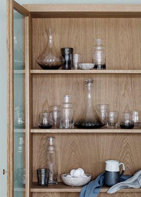 Broste CPH - Karaff - Carafe - Amber / Smoke Glass - Amber
