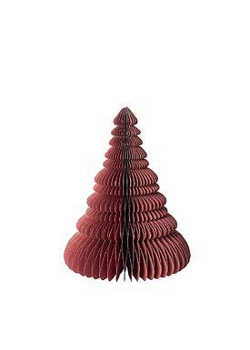 Broste CPH - Creative - Træ Med SølvGlitter - POMPEIAN RED