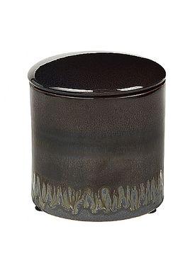 Broste CPH - Jar - Carol Ceramic Box - CARAFE/CROCODILE/R.RIDGE