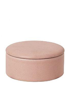 Broste CPH - Jar - Carol Ceramic Box - ROSE DAWN