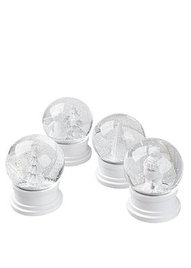 Broste CPH - SnowGlobe - Broste Snow Globe - Light Tree White