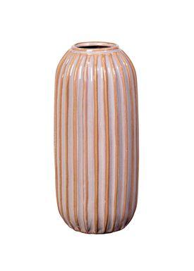Broste CPH - Vase - Lines Vase - Fawn - Ø12