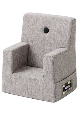 By KlipKlap - Chair - KK Kids Chair - Multi grey 520 w grey buttons