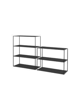 By Lassen - Hylla - Twin Bookcase - Large - Black