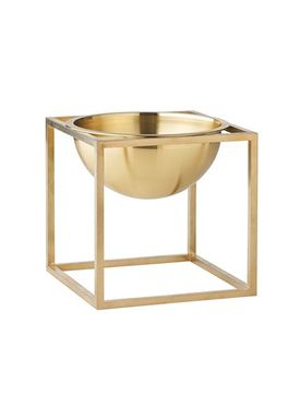 By Lassen - Bowl - Kubus Bowl - Brass Small
