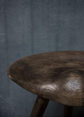 By Lassen - Stool - ML 42 Stool - Brown Oiled Oak