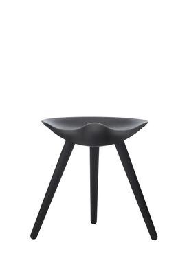 By Lassen - Stool - ML 42 Stool - Black Stained Beech