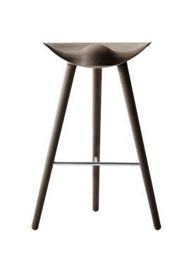 By Lassen - Stol - ML 42 Bar Stool - High - Brown Oiled Oak/Steel