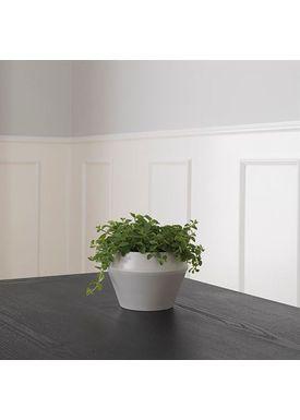 By Lassen - Flowerpot - Rimm Flowerpot - Cool Grey Small