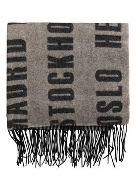 By Malene Birger - Scarf - Claudine Scarf - Black