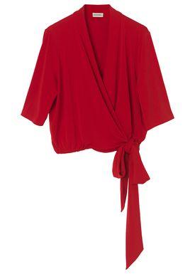 By Malene Birger - Top - Qaali - Bright Red