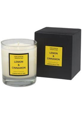 Cereria Mollá - Scented Candles - Cera - Lemon & Cinnamon