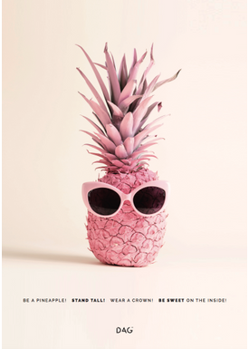 DAG - Poster - Be a... - Be a Pineapple