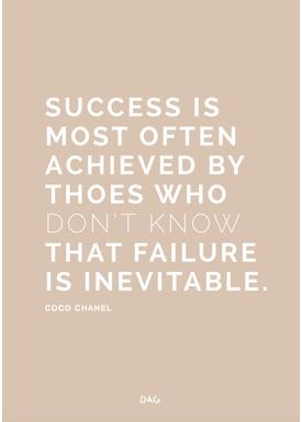 DAG - Poster - Success is Failure - Light Clay
