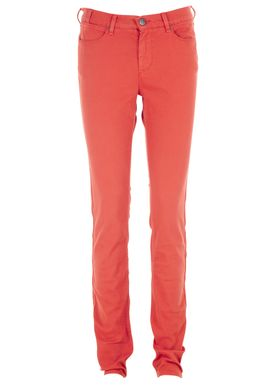 Day Racoon Color Jeans Rød