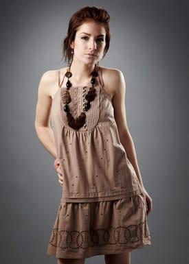 Designers Remix - Dress - Dolldress - Light Brown