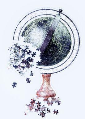 Doiy Design - Puzzles - Slow Puzzle - Globe
