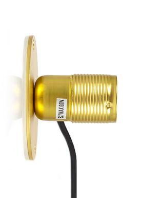 FRAMA - Lampe - E27 Væglampe - Messing