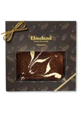 Elmelund Chocolatier - Choclate - Organic Chocolate - Darkchocolate/Coffee