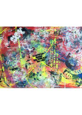Falentin Art - Painting - Chaos - Multi