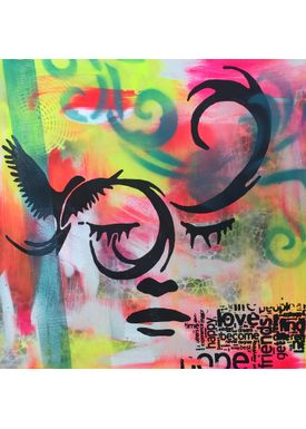 Falentin Art - Painting - Love, hope.... - Multi