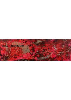 Falentin Art - Painting - Mega adrenaline - Pink