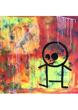 Falentin Art - Painting - Poul - Multi