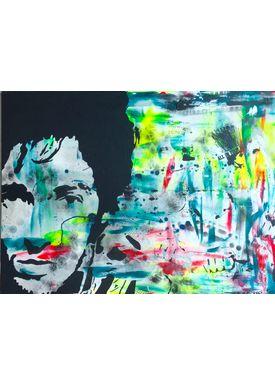 Falentin Art - Painting - Springsteen - Multi
