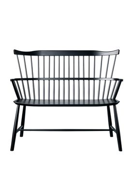 FDB Møbler / Furniture - Bench - J52D by Børge Mogensen - Black