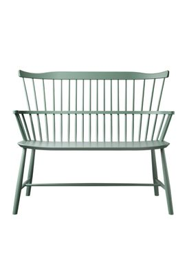 FDB Møbler / Furniture - Bench - J52D by Børge Mogensen - Dusty Green