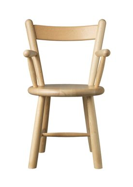FDB Møbler / Furniture - Kids chair - P9 by Børge Mogensen - Beech / Natural