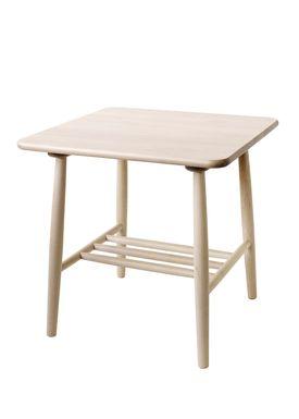 FDB Møbler / Furniture - Bord - D20 af Poul M. Volther - Square - Nature