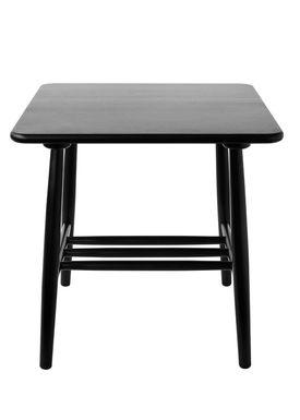FDB Møbler / Furniture - Table - D20 af Poul M. Volther - Square - Black