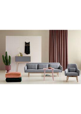 FDB Møbler / Furniture - Bord - D20 af Poul M. Volther - Square - Nude