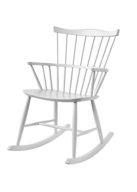 FDB Møbler / Furniture - Stolsdyna - J52G by Børge Mogensen - White