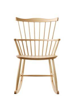 FDB Møbler / Furniture - Gyngestol - J52G af Børge Mogensen - Natur