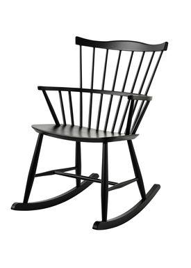 FDB Møbler / Furniture - Cushion - J52G by Børge Mogensen - Black