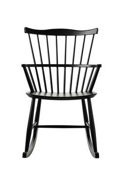 FDB Møbler / Furniture - Gyngestol - J52G af Børge Mogensen - Sort