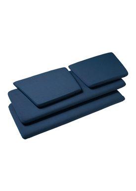 FDB Møbler / Furniture - Cushions - J148 2 pers Cushions by Erik Ole Jørgensen - Blue
