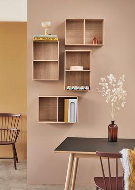 FDB Møbler / Furniture - Lådor - B98 by Mogens Koch - Large - Ash