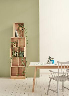 FDB Møbler / Furniture - Lådor - B98 by Mogens Koch - Small - Ash