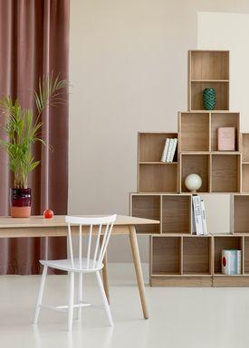 FDB Møbler / Furniture - Lådor - B98 by Mogens Koch - Small - Oak
