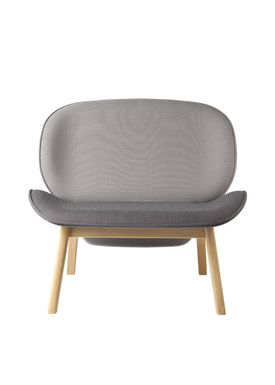 FDB Møbler / Furniture - Fåtölj - L32 Suru by Carina Maria - Grey/Grey