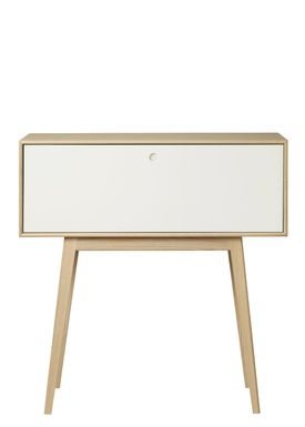 FDB Møbler / Furniture - Hyllor - F22 by Foersom & Hiort-Lorenzen - Nature/White