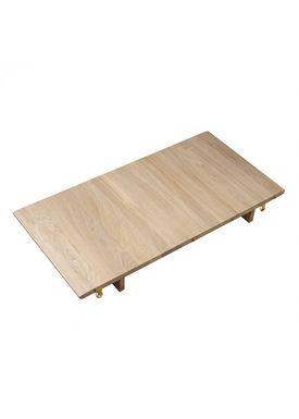 FDB Møbler / Furniture - Dining Table - C63 Bjørk by Unit10 - Oak / Natural / Additional table extender